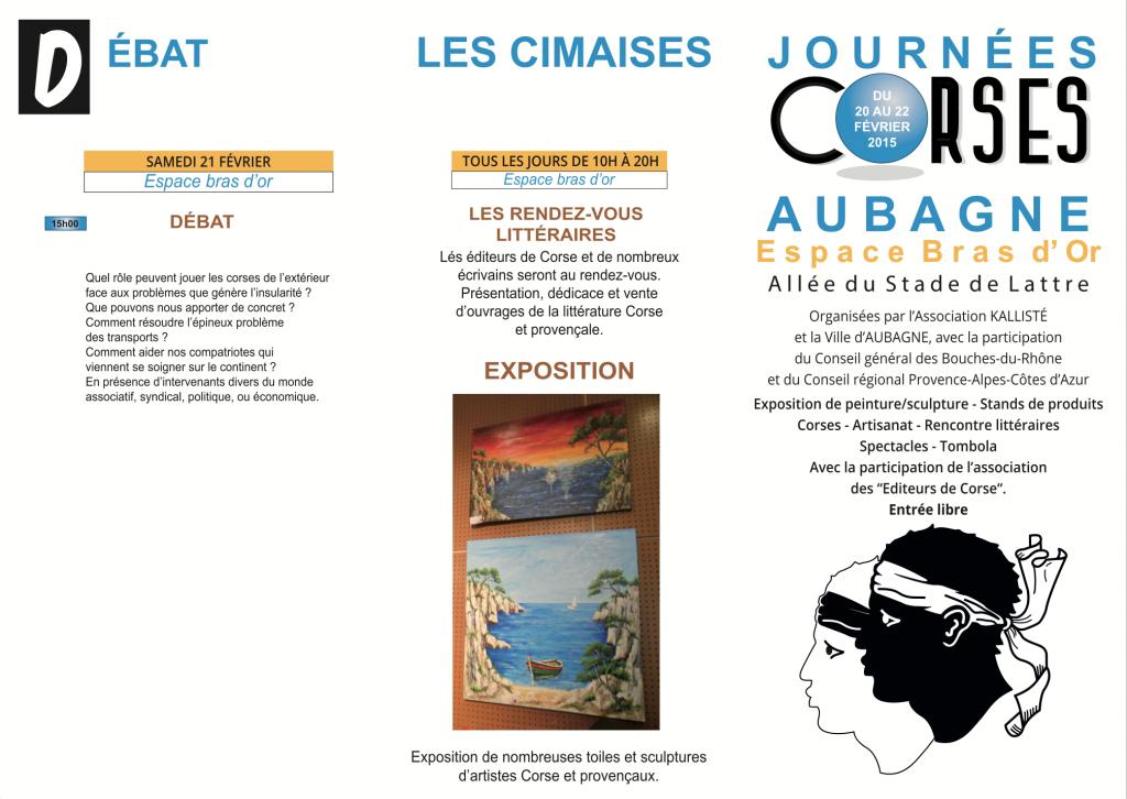 Prog Journées Corse Aubagne