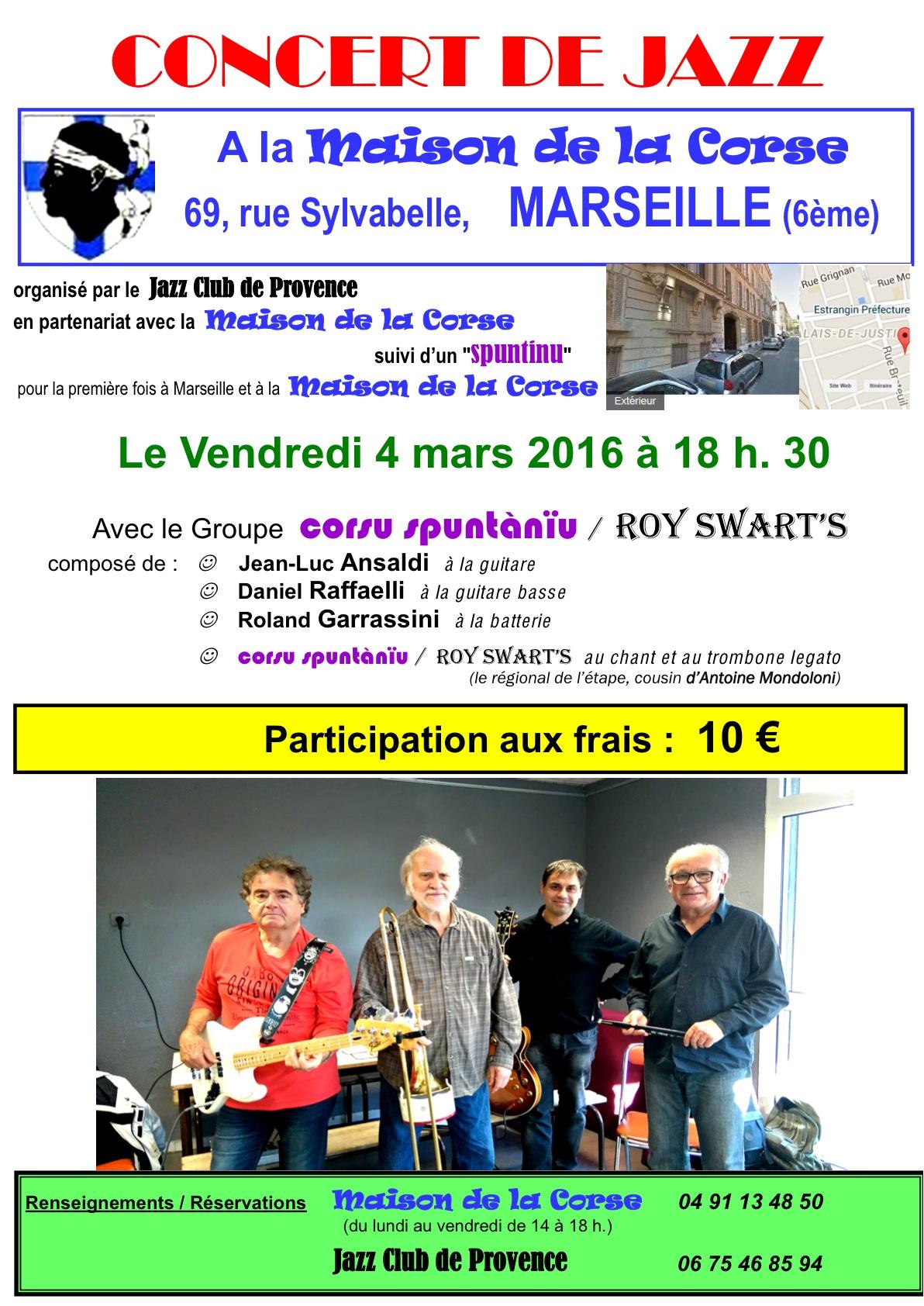 Maison Corse 4 mars 2016