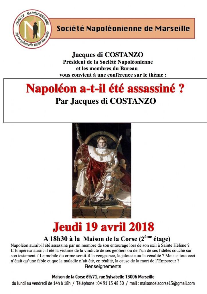 Affiche Napoleon MDN