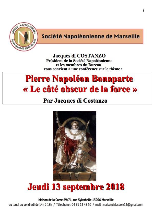 Affiche Pierre Napoleon bonaparte