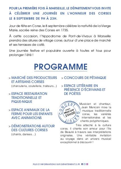 flyer 2-journée Corse 0809