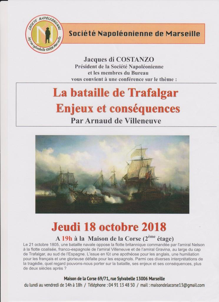 affiche conférence trafalgar arnaud de villeneuve 001