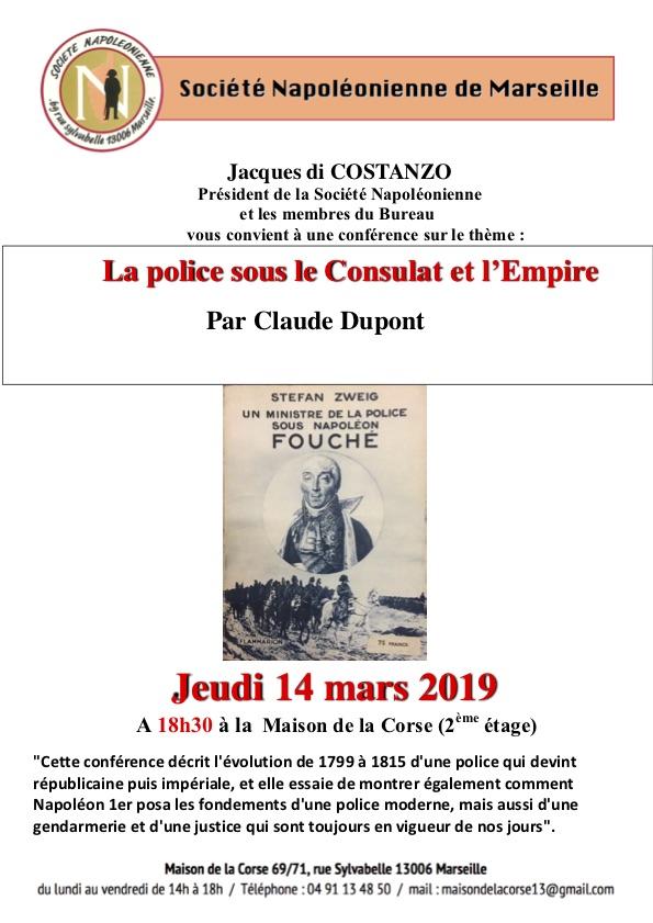Affiche Police Consulat et     Empire (1)