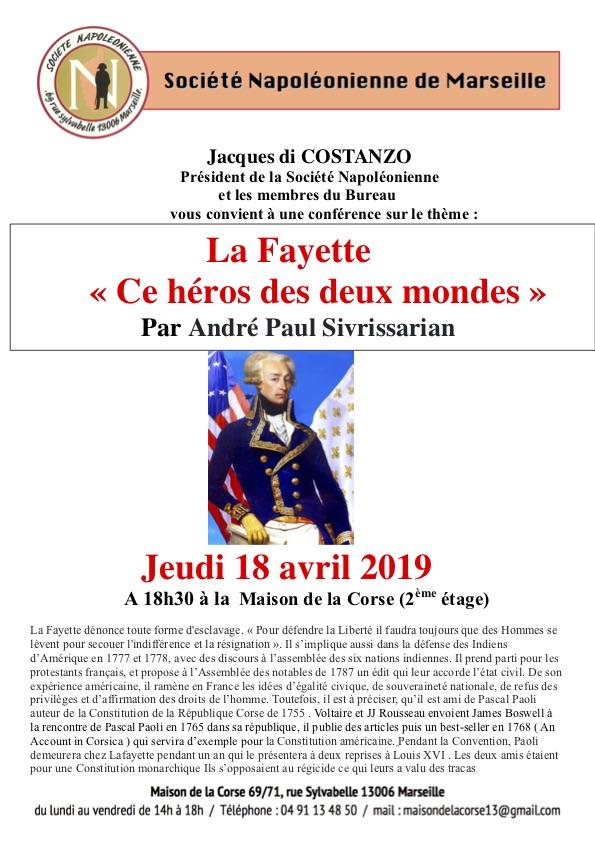 Affiche La Fayette (1)