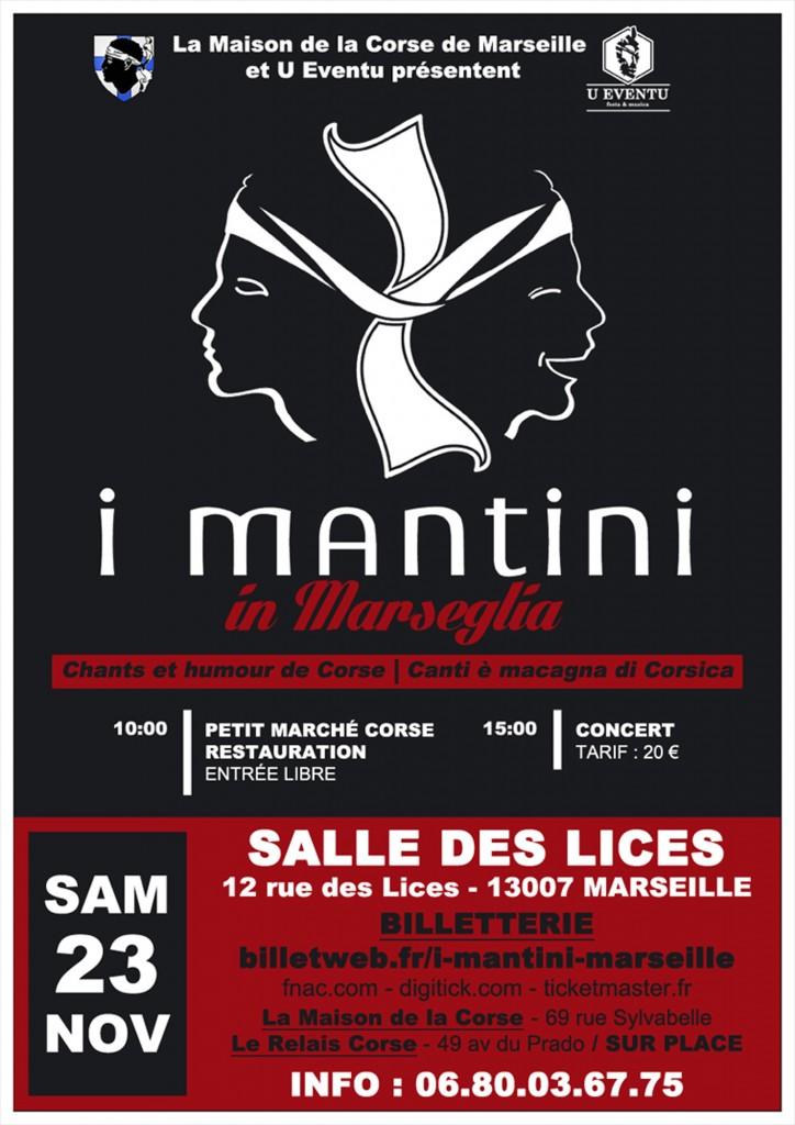 Affiche I Mantini x Marseille3