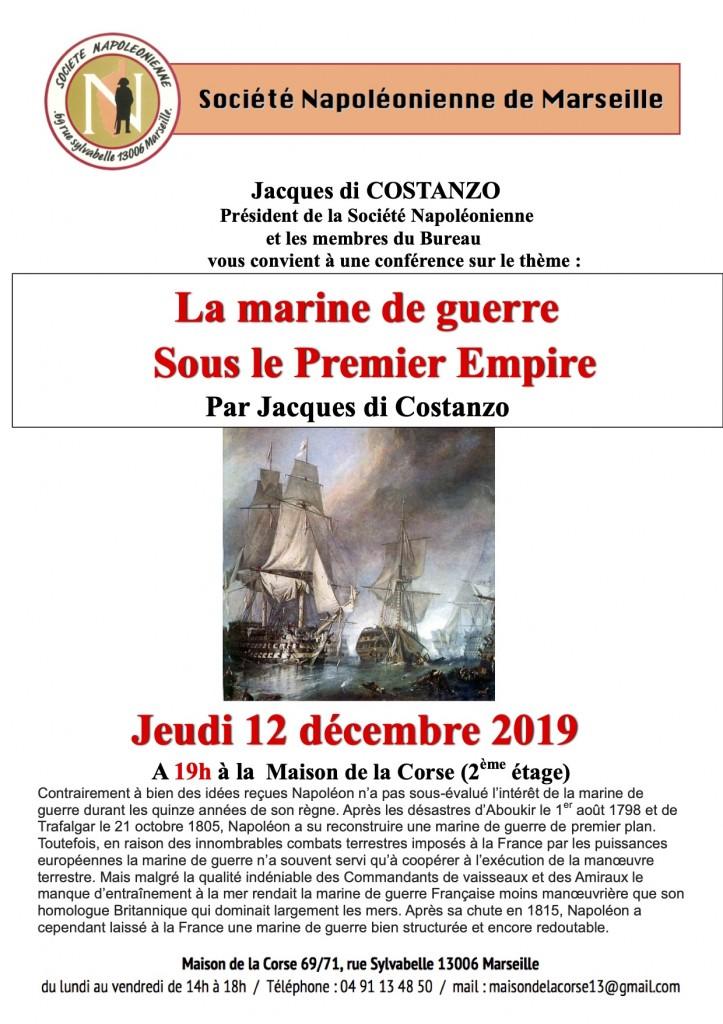 Affiche Marine de guerre 1er     Empire